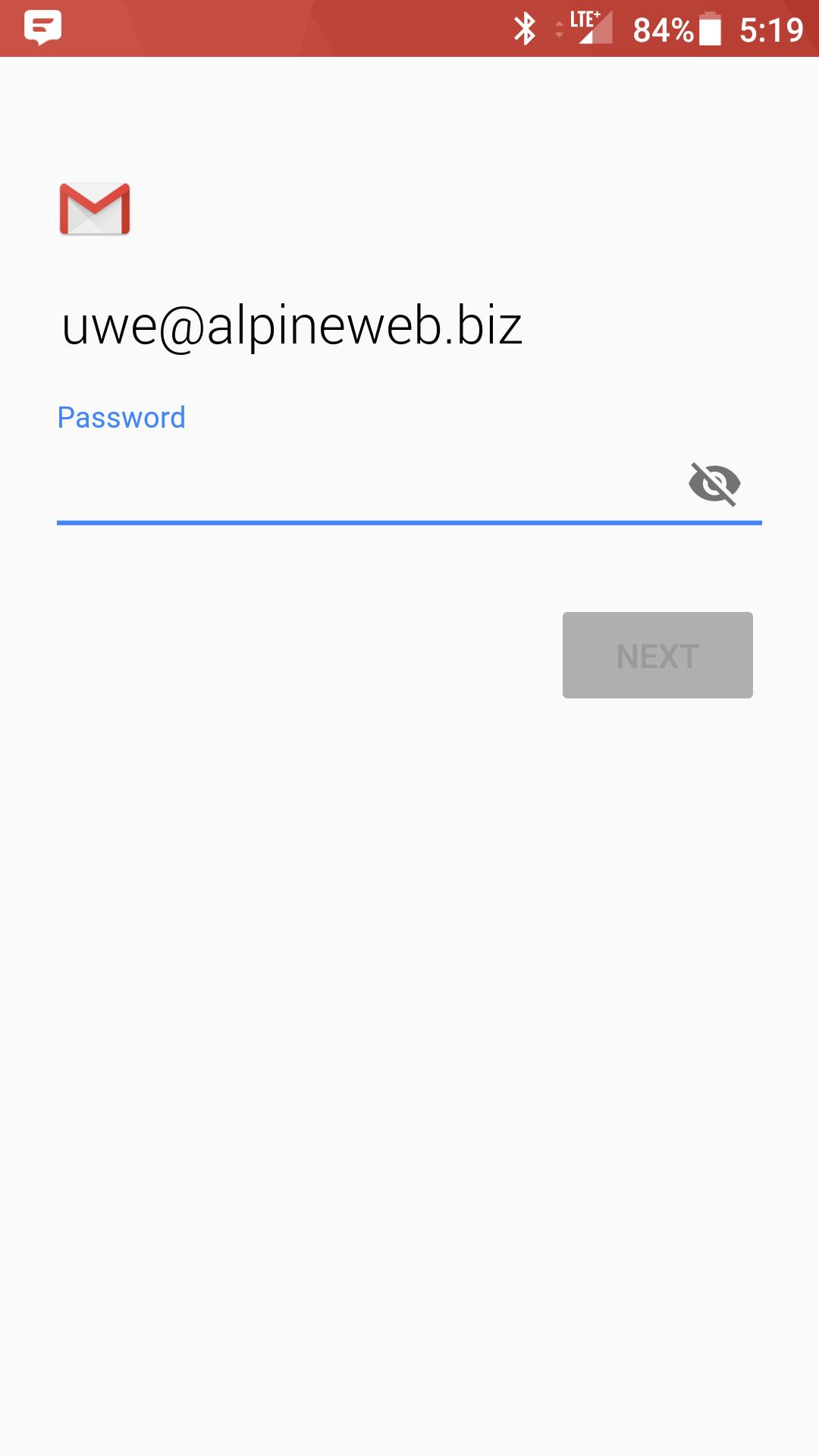 Android: LG Gmail Setup (IMAP) - Knowledgebase - AlpineWeb Design